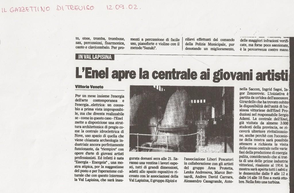 22. il gazzettino 2002